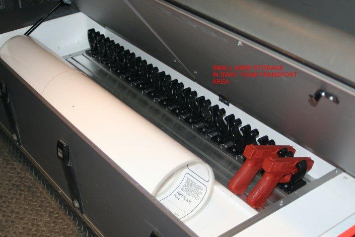 pistol mounting
