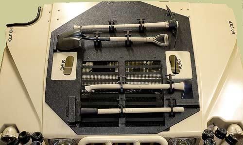 military tool storage