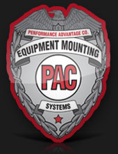 Equipment Mounting Systems logo for police
