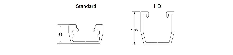 Standard .89 HD 1.63