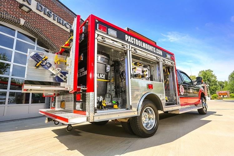 Fire & Emergency Tool Mounts